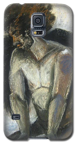Galaxy S5 Case featuring the drawing Angel by Gabrielle Wilson-Sealy