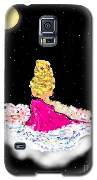 Galaxy S5 Case featuring the painting Angelsheaven by Lori  Lovetere
