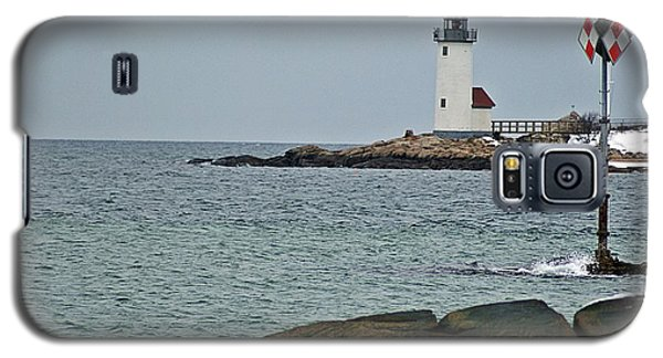 Annisquam Lighthouse Galaxy S5 Case by Joe Faherty