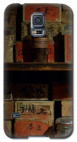 Galaxy S5 Case featuring the photograph Apothecary by Newel Hunter