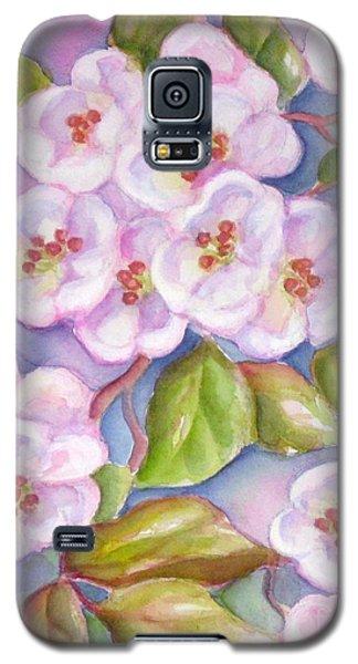 Apple Blossoms 2 Galaxy S5 Case