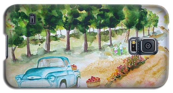 Apple Harvest Fun Galaxy S5 Case by Sharon Mick