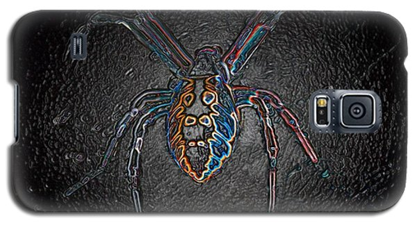 Galaxy S5 Case featuring the photograph Arachnophobia by Patrick Witz