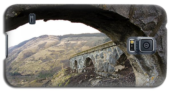 Arches And Mountains Galaxy S5 Case by Steve McKinzie