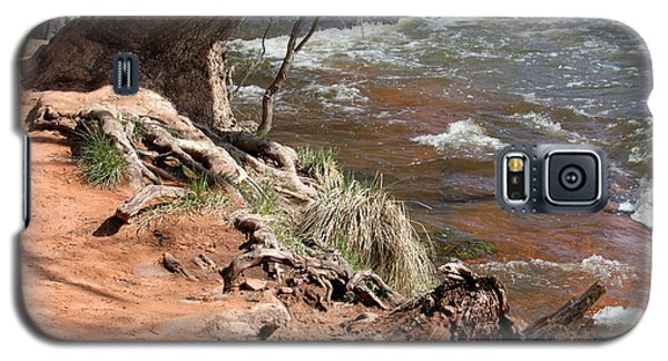 Galaxy S5 Case featuring the photograph Arizona Red Water by Debbie Hart