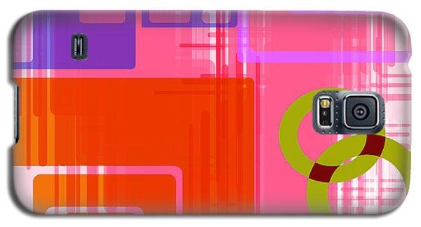Galaxy S5 Case featuring the digital art Art Deco Style Digital Art by Susan Leggett