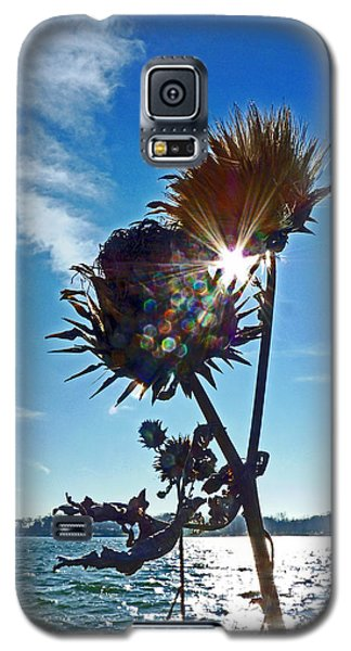 Galaxy S5 Case featuring the photograph Artichoke Bones by William Fields