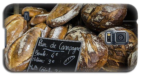 Galaxy S5 Case featuring the photograph Artisan Bread by Marta Cavazos-Hernandez