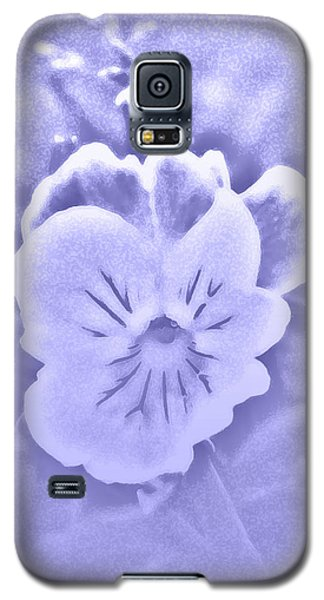 Artistic Pansy Galaxy S5 Case