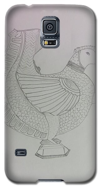 Galaxy S5 Case featuring the painting Artistic Teapot by Sonali Gangane