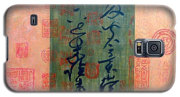 Asian Script Galaxy S5 Case