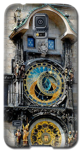 Astronomical Clock Galaxy S5 Case by Pravine Chester