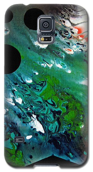 Galaxy S5 Case featuring the painting Atlantis by Robert G Kernodle