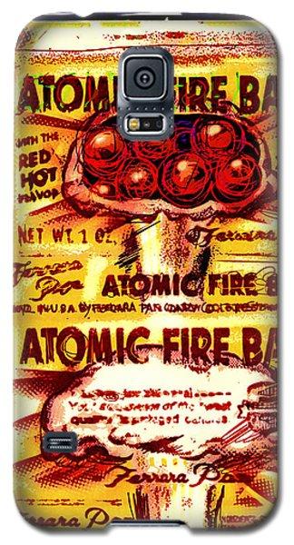 Atomic Fire Ball Galaxy S5 Case