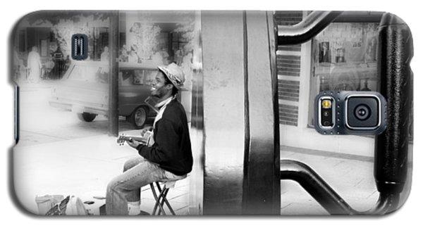 Atown Street Musician Galaxy S5 Case by Gray  Artus