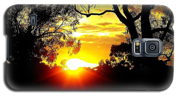 Galaxy S5 Case featuring the photograph Aussie Sunset by Blair Stuart