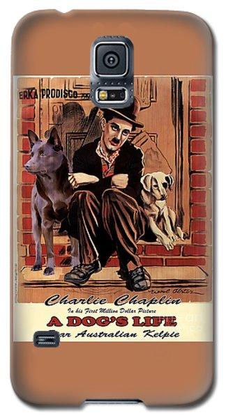 Australian Kelpie - A Dogs Life Movie Poster Galaxy S5 Case