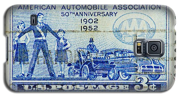 Galaxy S5 Case featuring the photograph Automobile Association Of America by Andy Prendy