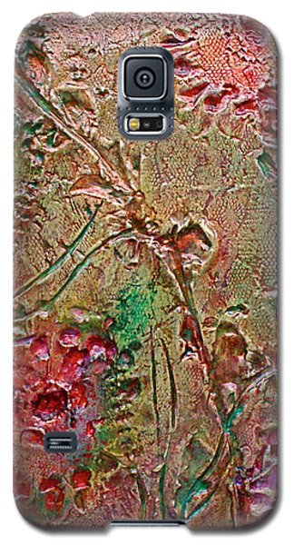 Galaxy S5 Case featuring the painting Autumn Daze by D Renee Wilson