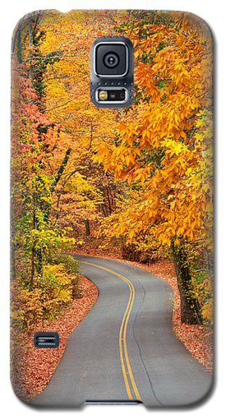 Autumn Drive Signal Mountain Galaxy S5 Case