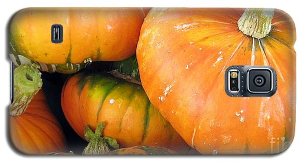 Galaxy S5 Case featuring the photograph Autumn Harvest by Kathy Bassett