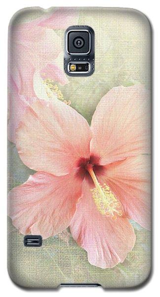 Autumn Hibiscus Galaxy S5 Case