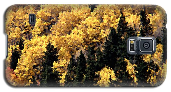Autumn In Colorado Painting Galaxy S5 Case