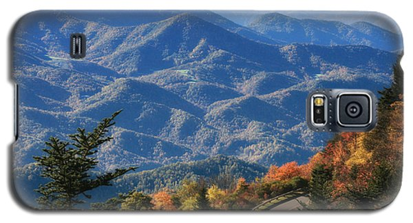 Galaxy S5 Case featuring the photograph Autumn On The Blue Ridge Parkway by Lynne Jenkins