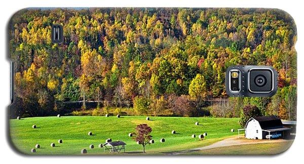 Galaxy S5 Case featuring the photograph Autumn On The Farn by Susan Leggett