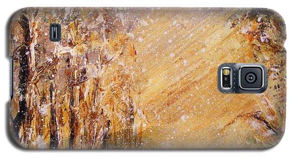 Autumn Snow Galaxy S5 Case