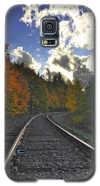 Autumn Tracks Galaxy S5 Case