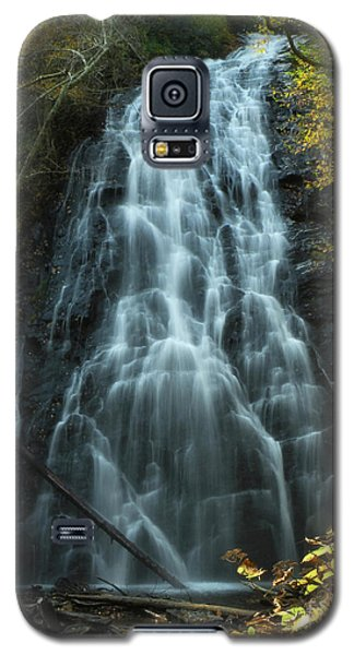 Galaxy S5 Case featuring the photograph Autumn Waterfall by Deborah Smith