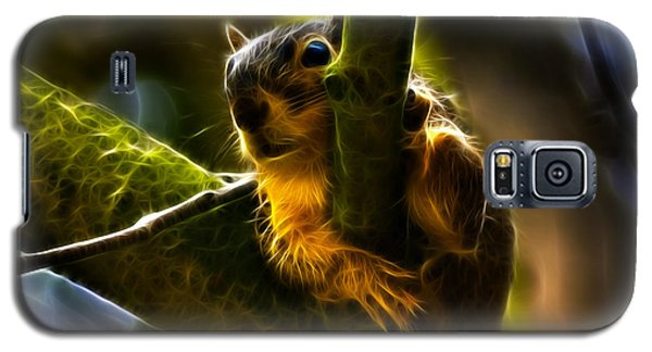 Awww Shucks- Fractal - Robbie The Squirrel Galaxy S5 Case