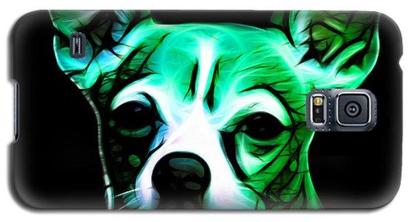 Aye Chihuahua - Cyan Galaxy S5 Case