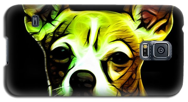 Galaxy S5 Case featuring the digital art Aye Chihuahua  by James Ahn