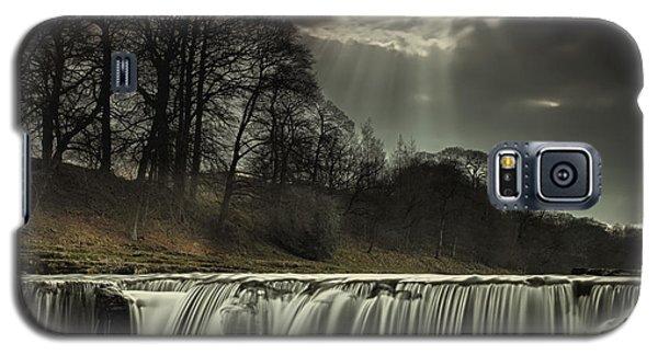Aysgarth Falls Yorkshire England Galaxy S5 Case
