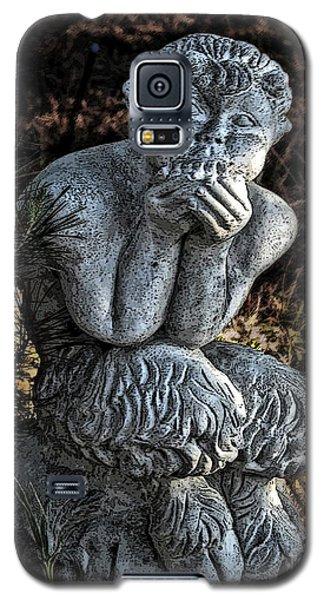 Baby Pan Statue Galaxy S5 Case by Danuta Bennett