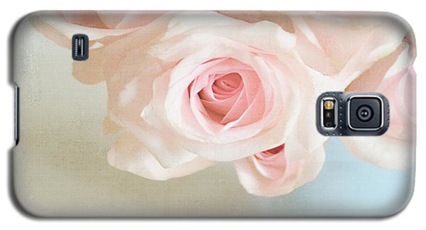 Baby Pink Roses Galaxy S5 Case