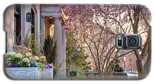 Galaxy S5 Case featuring the photograph Back Bay Spring by Susan Cole Kelly