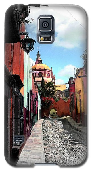 Galaxy S5 Case featuring the photograph Back Of The Church by John  Kolenberg