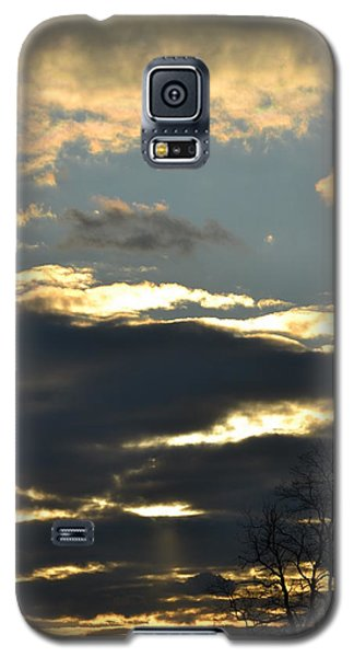 Backlit Clouds Galaxy S5 Case by Bonnie Myszka