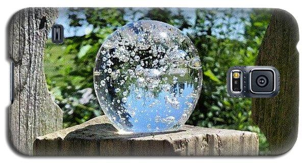 Fantasy Galaxy S5 Case - Backyard Magic #crystalball #magic by Melissa Wyatt