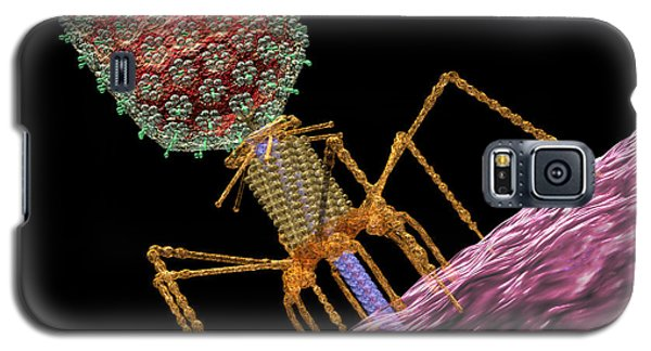 Bacteriophage T4 Injecting Galaxy S5 Case