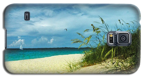 Galaxy S5 Case featuring the photograph Bahamas Afternoon by Deborah Smith