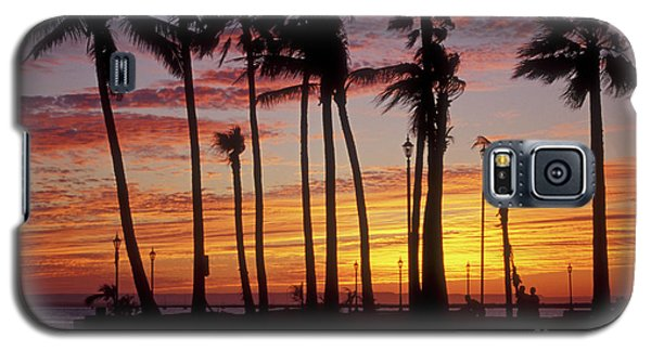 Galaxy S5 Case featuring the photograph Baja Sunset La Paz  Mexico by John  Mitchell
