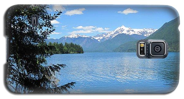 Galaxy S5 Case featuring the photograph Baker Lake by Karen Molenaar Terrell