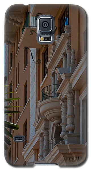 Galaxy S5 Case featuring the photograph Balcony At The Biltmore Hotel by Ed Gleichman