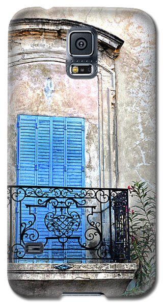 Galaxy S5 Case featuring the photograph Balcony Provence France by Dave Mills