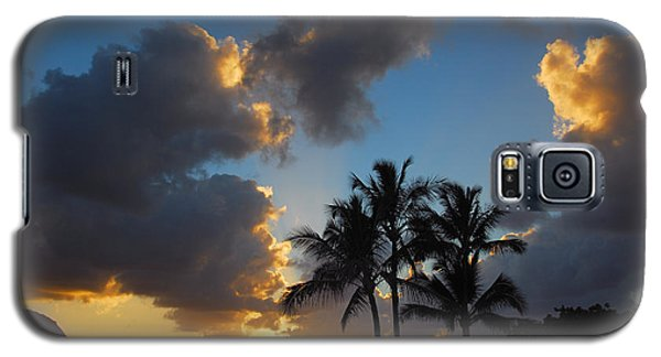 Galaxy S5 Case featuring the photograph Bali Hai Sunset by Lynn Bauer