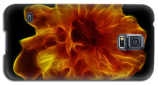 Galaxy S5 Case featuring the photograph Ball Of Fire by Lynn Bolt